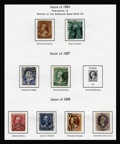 Stamps, United States Collection, 1851-1963.... (Total: 2 Album)