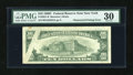 Error Notes:Obstruction Errors, Fr. 2021-B $10 1969C Federal Reserve Note. PMG Very Fine 30.. ...