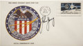 Explorers:Space Exploration, Apollo 16 Official Launch Cover Directly from the PersonalCollection of Mission Commander John Young, Signed on Front,Certif...