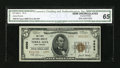 National Bank Notes:West Virginia, Terra Alta, WV - $5 1929 Ty. 2 The First NB Ch. # 6999. ...