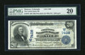 National Bank Notes:Colorado, Denver, CO - $20 1902 Date Back Fr. 642 The United States NB Ch. #(W)7408. ...