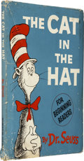 Books:First Editions, Dr. Seuss. The Cat in the Hat. [New York]: Random House,[1957]....
