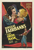 "Movie Posters:Adventure, The Iron Mask (United Artists, 1929). One Sheet (27"" X 41"").. ..."