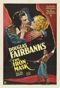 "The Iron Mask (United Artists, 1929). One Sheet (27"" X 41"")"