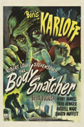 "Movie Posters:Horror, The Body Snatcher (RKO, 1945). One Sheet (27"" X 41"") Style A.. ..."