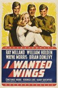 """Movie Posters:War, I Wanted Wings (Paramount, 1941). One Sheet (27"""" X 41"""") Style B....."""