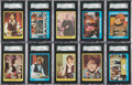 "Non-Sport Cards:General, 1971 Topps ""The Partridge Family"" High Grade Series 1 (55) andSeries 2 (55) Complete Sets. ..."