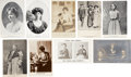 Political:Small Paper (1896-present), Woman's Suffrage: Nine Cards of W.S.P.U. Leaders.... (Total: 9Items)