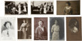 Political:Small Paper (1896-present), Woman's Suffrage: Eight English Suffrage Leader Photos.... (Total: 8 Items)