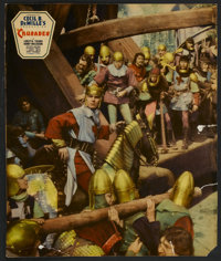 "The Crusades (Paramount, 1935). Jumbo Lobby Card (14"" X 17""). Adventure"