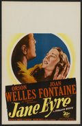 "Movie Posters:Romance, Jane Eyre (20th Century Fox, 1944). Window Card (14"" X 22"") and Lobby Card (11"" X 14""). Romance.. ... (Total: 2 Items)"