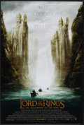 """Movie Posters:Fantasy, The Lord of the Rings: The Fellowship of the Ring (New Line, 2001). One Sheet (27"""" X 40"""") SS Advance. Fantasy.. ..."""