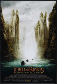 "The Lord of the Rings: The Fellowship of the Ring (New Line, 2001). One Sheet (27"" X 40"") SS Advance. Fantasy..."
