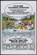 "Movie Posters:Animated, Race for Your Life, Charlie Brown (Paramount, 1977). One Sheet (27"" X 41""). Animated.. ..."