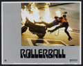 "Movie Posters:Science Fiction, Rollerball (United Artists, 1975). Lobby Card Set of 8 (11"" X 14"").Science Fiction.. ..."