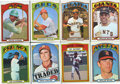 Baseball Cards:Sets, 1972 Topps Baseball Partial Set (660/787). ...