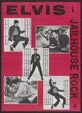 "Movie Posters:Elvis Presley, Jailhouse Rock (MGM, R-1960s). Danish Poster (24.25"" X 33.25"").Elvis Presley.. ..."