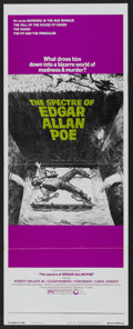 "Movie Posters:Horror, The Spectre of Edgar Allan Poe (Cinerama Releasing, 1974). Insert (14"" X 36""). Horror.. ..."