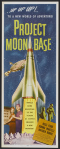 """Movie Posters:Science Fiction, Project Moon Base (Lippert, 1953). Insert (14"""" X 36""""). ScienceFiction.. ..."""