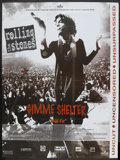 "Movie Posters:Rock and Roll, Gimme Shelter (20th Century Fox, 1970). French Grande (46"" X 62"").Rock and Roll.. ..."