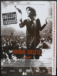 "Gimme Shelter (20th Century Fox, 1970). French Grande (46"" X 62""). Rock and Roll"