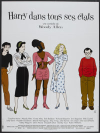 """Deconstructing Harry (BAC Films, 1998). French Grande (45.5"""" X 60.5""""). Comedy"""