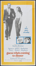 "Movie Posters:Comedy, Guess Who's Coming to Dinner (Columbia, 1967). Three Sheet (41"" X 81""). Comedy.. ..."