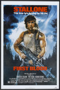 "Movie Posters:Action, First Blood Lot (Orion, 1982). One Sheets (2) (27"" X 41""). Action..... (Total: 2 Items)"