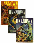 Pulps:Horror, Unknown/Unknown Worlds Group (Street & Smith, 1939-43)Condition: Average FN.... (Total: 39 Items)