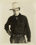 "Movie Posters:Western, Gary Cooper in ""The Virginian"" by Gene Robert Richee (Paramount,1929). Still (8"" X 10"").. ..."