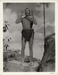 "Movie Posters:Adventure, Johnny Weissmuller in ""Tarzan's Secret Treasure"" (MGM, 1941). Still(8"" X 10"").. ..."