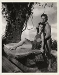 "Movie Posters:Adventure, Maureen O'Sullivan & Johnny Weissmuller in ""Tarzan's SecretTreasure"" Still (MGM, 1941). Still (8"" X 10"").. ..."