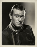 "Movie Posters:Western, John Wayne in ""Stagecoach"" (United Artists, 1939). Stills (2) (8"" X10"").. ... (Total: 2 Items)"
