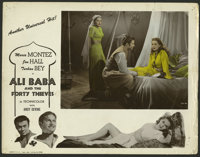"Ali Baba and the Forty Thieves (Universal, 1944). Color-Glos Lobby Cards (6) (11"" X 14""). Fantasy.... (Total:..."