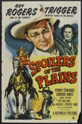 """Movie Posters:Western, Spoilers of the Plains (Republic, 1951). One Sheet (27"""" X 41""""). Western.. ..."""