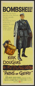 """Movie Posters:War, Paths of Glory (United Artists, 1958). Insert (14"""" X 36""""). War.. ..."""