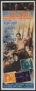 "Movie Posters:Adventure, Two Years Before the Mast (Paramount, 1945). Insert (14"" X 36"").Adventure.. ..."