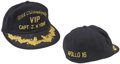 Explorers:Space Exploration, Apollo 16 Recovery Ship U.S.S. Ticonderoga Hat Directly from the Personal Collection of Mission Commander John You...