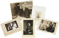 "Photography:Cabinet Photos, [Presidents] Five Photographic Images, including: a postcard ofPresident Theodore Roosevelt and his family, 5.25"" x 3.5... (Total:5 Items)"