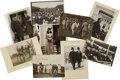 Photography:Cabinet Photos, William Howard Taft, Nine Photographic Images, including; two photographs of Taft inspecting construction of the Panama Cana... (Total: 9 Items)
