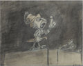 Animation Art:Production Drawing, Pinocchio Storyboard Drawing Original Art (Disney, 1940)....