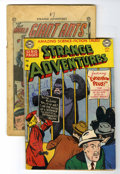 Golden Age (1938-1955):Science Fiction, Strange Adventures #7 and 8 Group (DC, 1951).... (Total: 2 ComicBooks)