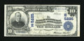 National Bank Notes:Pennsylvania, Pittsburgh, PA - $10 1902 Plain Back Fr. 632 The Bank of Pittsburgh, National Assoc Ch. # (E)5225. ...