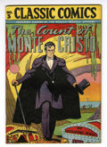 Golden Age (1938-1955):Classics Illustrated, Classic Comics #3 Count of Monte Cristo HRN 28 (Gilberton, 1946) Condition: VF....