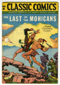 Golden Age (1938-1955):Classics Illustrated, Classic Comics #4 Last of the Mohicans HRN 28 (Gilberton, 1946) Condition: VF....