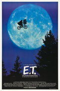 "Movie Posters:Science Fiction, E.T. The Extra-Terrestrial (Universal, 1982). One Sheet (27"" X40.5"") ""Bicycle Style."". ..."