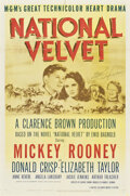"Movie Posters:Drama, National Velvet (MGM, 1944). Autographed One Sheet (27"" X 41"") and Lobby Card (11"" X 14"").. ... (Total: 2 Items)"