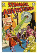 Golden Age (1938-1955):Science Fiction, Strange Adventures #25 (DC, 1952) Condition: VF-....