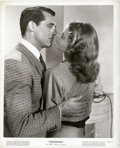 """Movie Posters:Hitchcock, Cary Grant and Ingrid Bergman in """"Notorious"""" (RKO, 1946). Stills(4) (8"""" X 10"""").. ... (Total: 4 Items)"""