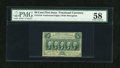 Fractional Currency:First Issue, Fr. 1310 50c First Issue PMG Choice About Unc 58....